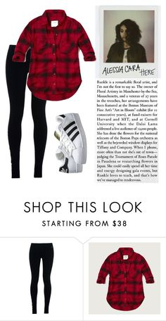 """""""get the Alessia Cara look"""" by rozns17 on Polyvore featuring NIKE, Abercrombie & Fitch and adidas Originals"""
