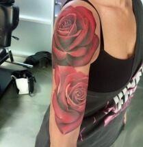 roos tattoo voorbeelden   Roos tattoo voorbeelden, laat je inspireren door Dutch Ink!