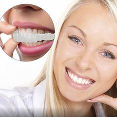 Beautiful Teeth, Beautiful People, Snap On Smile, Small Toilet Room, Veneers Teeth, Linen Tshirts, Perfect Smile, Healthy Detox, Cool Inventions
