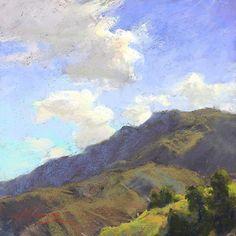 Skyward by Kim Lordier Pastel ~ 10 x 10