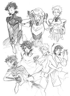Klance sketches