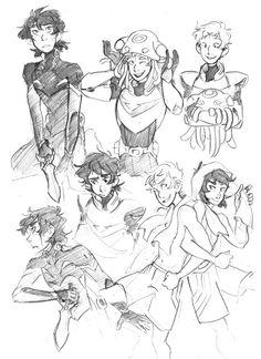 Klance sketches