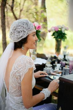 cathedral length bridal veils with crystals Archives - Weddings Romantique Headpiece Wedding, Wedding Veils, Bridal Headpieces, Wedding Dresses, Lace Wedding, Wedding Tiaras, Wedding Vintage, Gatsby Wedding, Wedding Attire