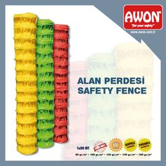 Awon safety fence/Awon alan perdesi