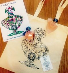 Guerlain Shalimars Little Things, Pretty Little, Ornaments, Fragrance