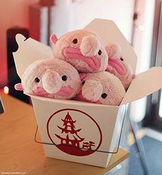 Amazon.com: Stuffed Blobfish Plush - Mini: Toys & Games