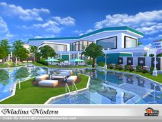 Madina Modern by autaki at TSR via Sims 4 Updates