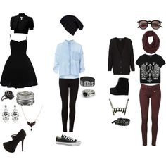 """""""outfits"""" by rinaki-giounes on Polyvore"""