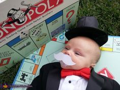 Mr. Monopoly - Halloween Costume Contest via @costumeworks