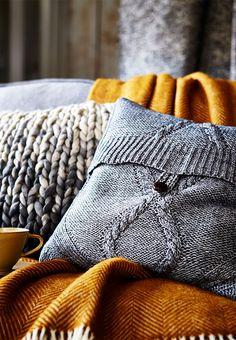 DIY | Pude af gammel sweater