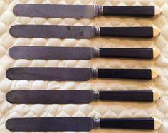 Lot of 6 Vintage Knives Meriden Cutlery Co.1851+/- #MeridenCutlery