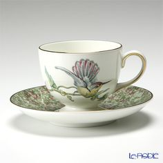 Wedgwood Hummingbird tea cup and saucer (Lee)