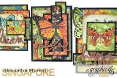 Nature Sketchbook Box&Notebook&ATC, Tutorial by Alexandra Morein, Product by Graphic 45, Photo 8