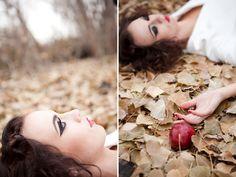Snow White wedding shoot. Love. - Lindsey Orton Photography & Lindsey Shaun Photography
