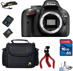 Top Value Bundle For D5200 DX DSLR (Body Only) + 16GB In Memory + Camera Carry Case + Flexible Tripod + 6pc Starter Kit  http://www.lookatcamera.com/top-value-bundle-for-d5200-dx-dslr-body-only-16gb-in-memory-camera-carry-case-flexible-tripod-6pc-starter-kit/