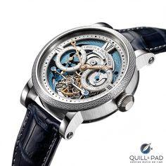 The Blue Merit: Grieb & Benzinger Makes An Ultra-Rare A. Lange & Söhne Tourbillon Pour Le Mérite Rarer Still | Quill & Pad Sporty Watch, Tourbillon, Pad, How To Introduce Yourself, Watches, Blue, Accessories, Wristwatches, Clocks