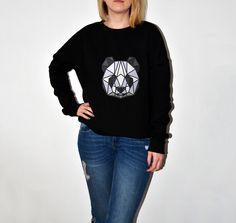 Bluza - Panda w BLOUZ  na DaWanda.com