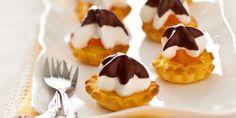 Mini tartelettes meringue passion
