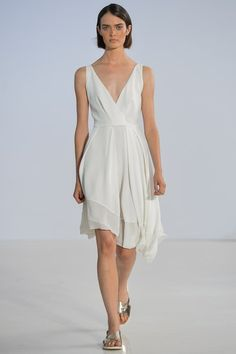 The complete Philosophy di Lorenzo Serafini Spring 2014 Ready-to-Wear fashion show now on Vogue Runway.