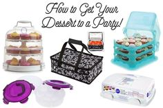 How to travel with desserts!