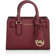 Michael Kors Shoulder Bags, MICHAEL Dillon TZ XS Crossbody Cherry... ($220) ❤ liked on Polyvore featuring bags, handbags, shoulder bags, purses, red, handbags crossbody, man shoulder bag, mini crossbody purse, purse crossbody and purse shoulder bag