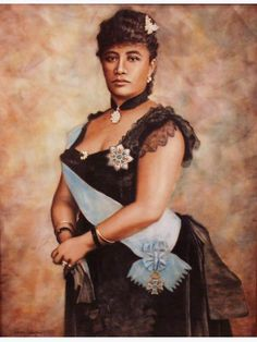 "Queen Lili'uokalani, the last reigning monarch of the Kingdom of Hawaii. She became queen of Hawaii in 1891 after her brother died. Lili'uokalani was also a prolific writer and wrote over 160 poetic melodies and chants. Her song, ""Aloha Oe,"" became one of Hawaii's National Anthems.  She tried to protect her people from an American take over but was arrested and deposed."