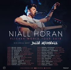 OMFG, NIALL IS GIVING A TOUR IN THE NETHERLANDS !!!!!!!