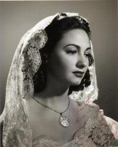 Carmen Molina (1920-1998) mexican actress.