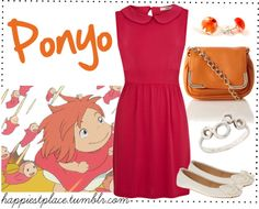 """""""Ponyo"""" by disneyinspired ❤ liked on Polyvore"""