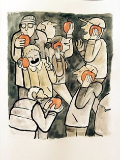 Powerful Illustrations by Jean Jullien Show the Ugly Truth about Modern Life | @learningmindcom | learning-mind.com