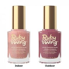 Ruby Wing After Sunset Color Changing Nail Polish