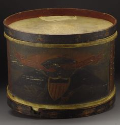 "Revolutionary War drum: ""Build it and they will drum."" Dedicated to research, study and comparisons of field drums. Our purpose is to collect information about historical U.S. drums (manufacture, preservation, conservancy, repair, market) for use by scholars, collectors and others."