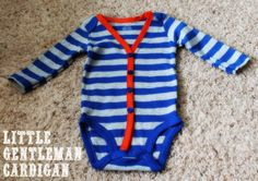 Sweet Savanah: Little Gentleman Cardigan