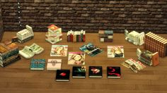 Sims 4 Updates: Leo Sims - Objects, Decor : Books, Custom Content Download!