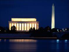 Lincoln Memorial & Washington Monument