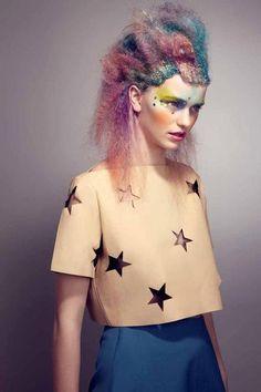 Etoiles - Cuir - Galaxy - Maquillage