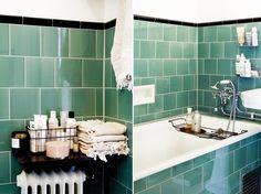 Kakel med hög glans för invändigt bruk. Victorian floor tiles klinker som i utseende och kvalitet överensstämmer med de klinker som traditionellt lades i trapphus, badrum m.m.