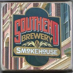 Southend Brewery and Smokehouse, Charleston, South Carolina Marble Coaster. http://yhst-128736562315201.stores.yahoo.net/sobrchscmaco.html
