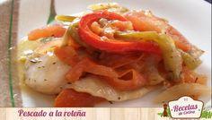 pescado a la roteña Receta de pescado a la roteña, plato típica de Rota (Cádiz)