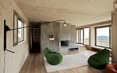 Chalet in Cordon, France Fuhrimann Hächler Architects