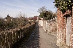 Sidewalk, Nord Pas De Calais, Porches, Walkway, Pavement