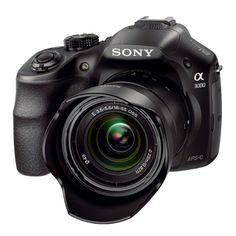 Câmera Semiprofissional 20.1 MP com flash embutido e lentes intercambiáveis - ILCE-3000K | Câmeras semiprofissionais | Câmeras & Filmadoras | Sony Store Online R$1.499,00.