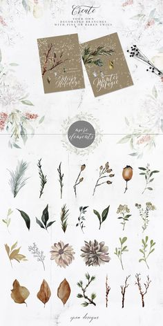 Frostbound Festive Edition + font by OpiaDesigns on Snow Overlay, Winter Clipart, Ribbon Design, Typographic Design, Art Graphique, Watercolor Paintings, Watercolour, Watercolor Design, Make Design