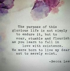 Becca Lee is a writer from Newcastle, Australia. She writes only with the aim to inspire others to become their own inspiration, after having, herself, overcome a life of depression, anxiety and self-harm. She writes of the beauty of imperfection, the complete contentment of self-love and the magic of undying hope. You may find her on Instagram as @beccaleepoetry and Facebook as Becca Lee Poetry