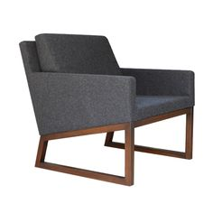 """Nova is a simply designed contemporary occasional chair with a comfortable upholstered seat and backrest. The seat has a steel structure with """"S"""" shape springs for extra flexibility and strength. Nova chair has a back cushion for extra comfort."""