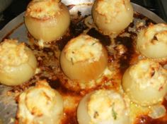 HPIM1401 Potato Salad, Muffin, Potatoes, Eggs, Breakfast, Ethnic Recipes, Food, Carmelized Onions, Ham
