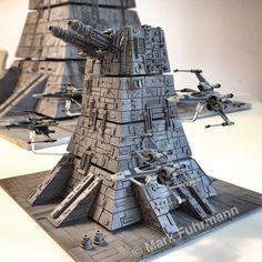 Scratchbuild Turbolaser Diorama (10 cm)