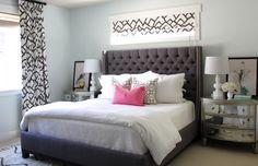 2 dormitorios en GRIS Y ROSA