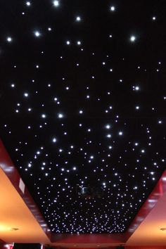 Oh HELLO. Need ya in my life, DIY LED fiber optic star ceiling...extreme project, but can be done, saving for a rainy day.