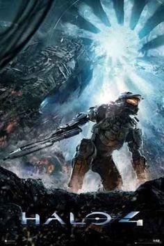 Halo 4 Amazon POster
